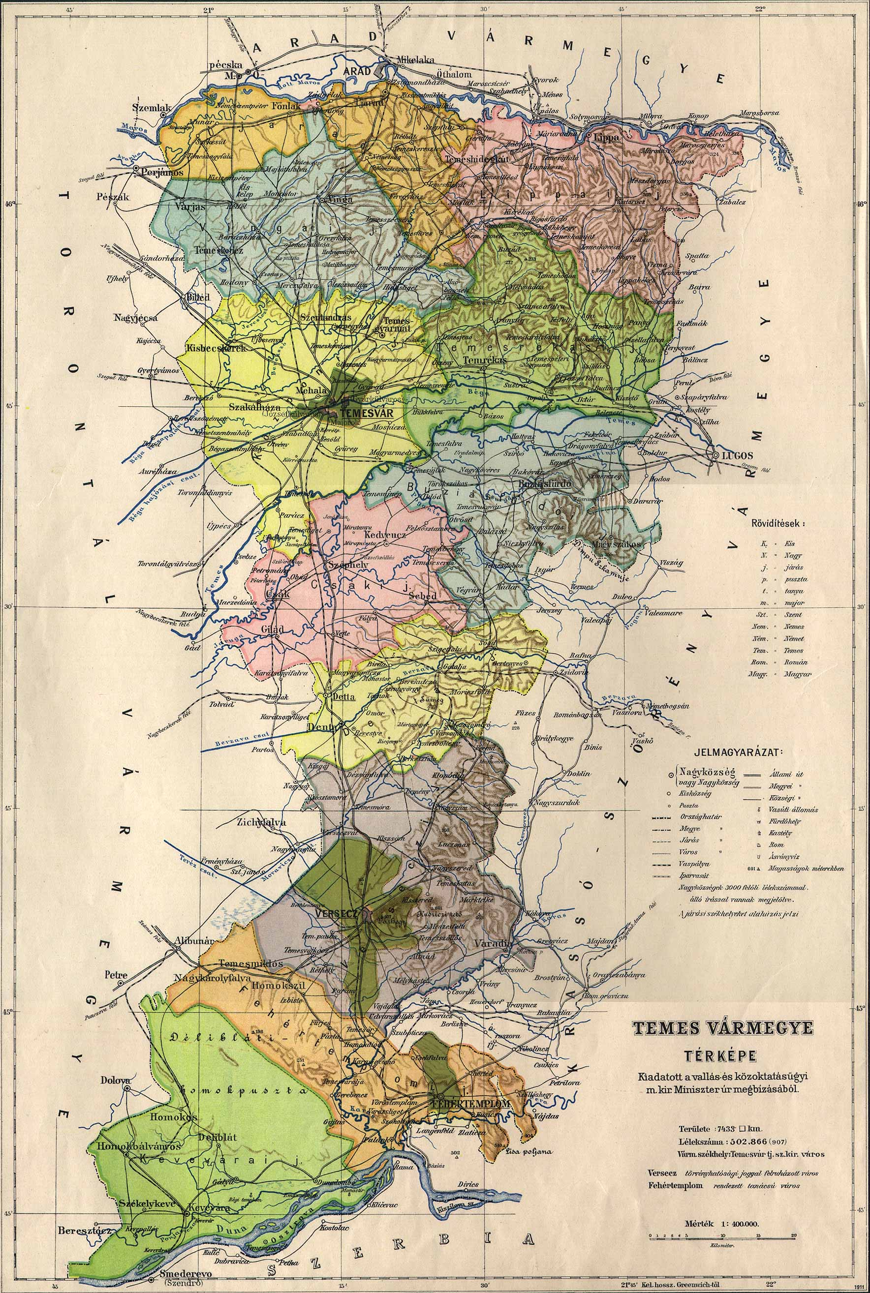 Temesjpg Old Maps Hungarian Counties - Where is hungary